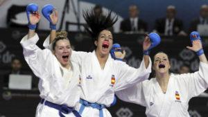 El equipo femenino de kumite da otro bronce a España en el Mundial