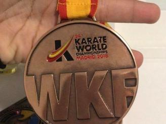 Roban la medalla que Cristina Ferrer consiguió en el Mundial