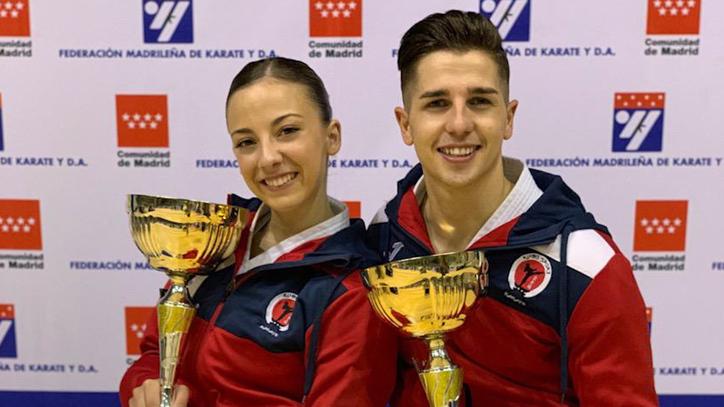 Sergio Galán y Lidia Rodríguez, unidos en el karate y en el amor
