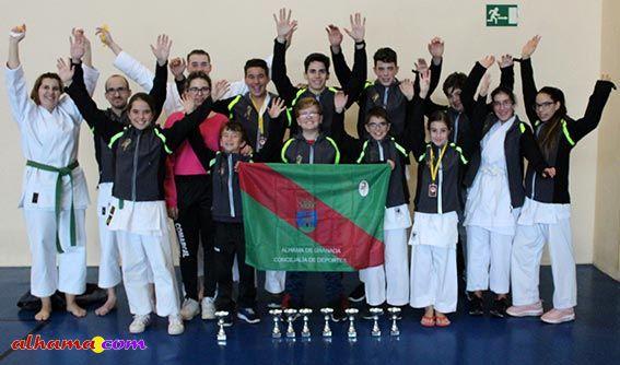 Circuito provincial de karate en la modalidad de Katas