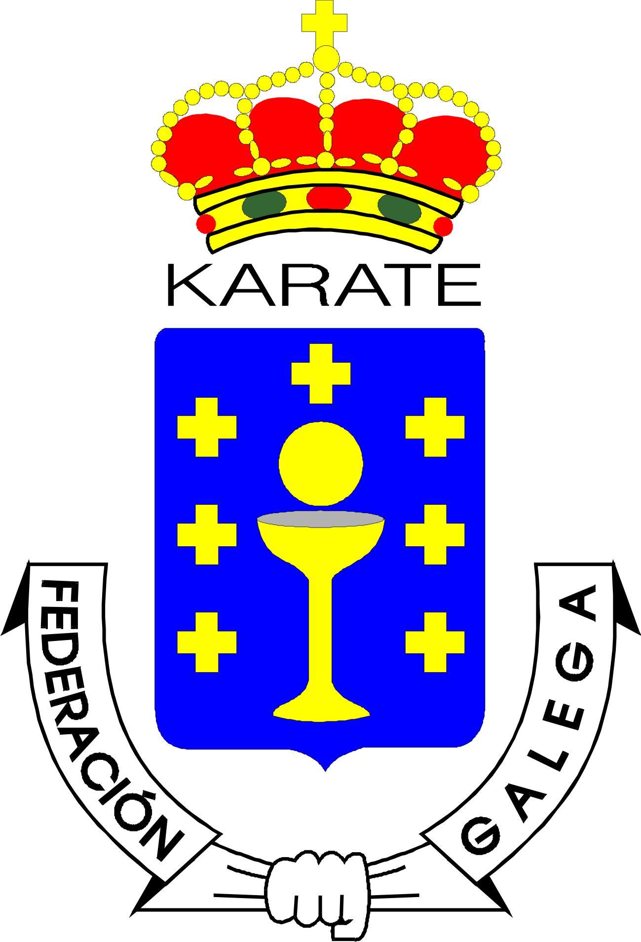 Varios carballeses en el podio del torneo gallego infantil de kárate