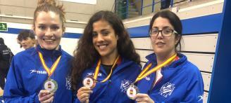Oro nacional absoluto para Cristina Ferrer