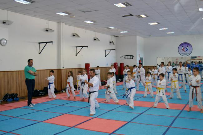 Kanku busca el éxito infantil en la Liga Nacional Masculina de Kárate