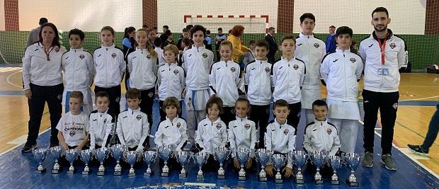 Olympic Karate Marbella consigue diecinueve medallas en el Campeonato de Málaga, siendo el más laureado de la provincia