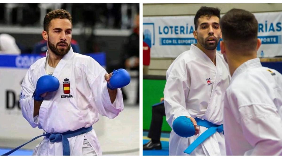 Oro para Matías Gómez y plata para Raúl Cuerva en el Campeonato de España de Kárate