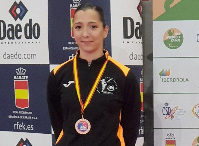 Carla Riestra, seleccionada para las series mundiales de Karate en Salzburgo