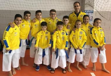 Destacado papel del Shotokan en el campeonato de Extremadura de Karate
