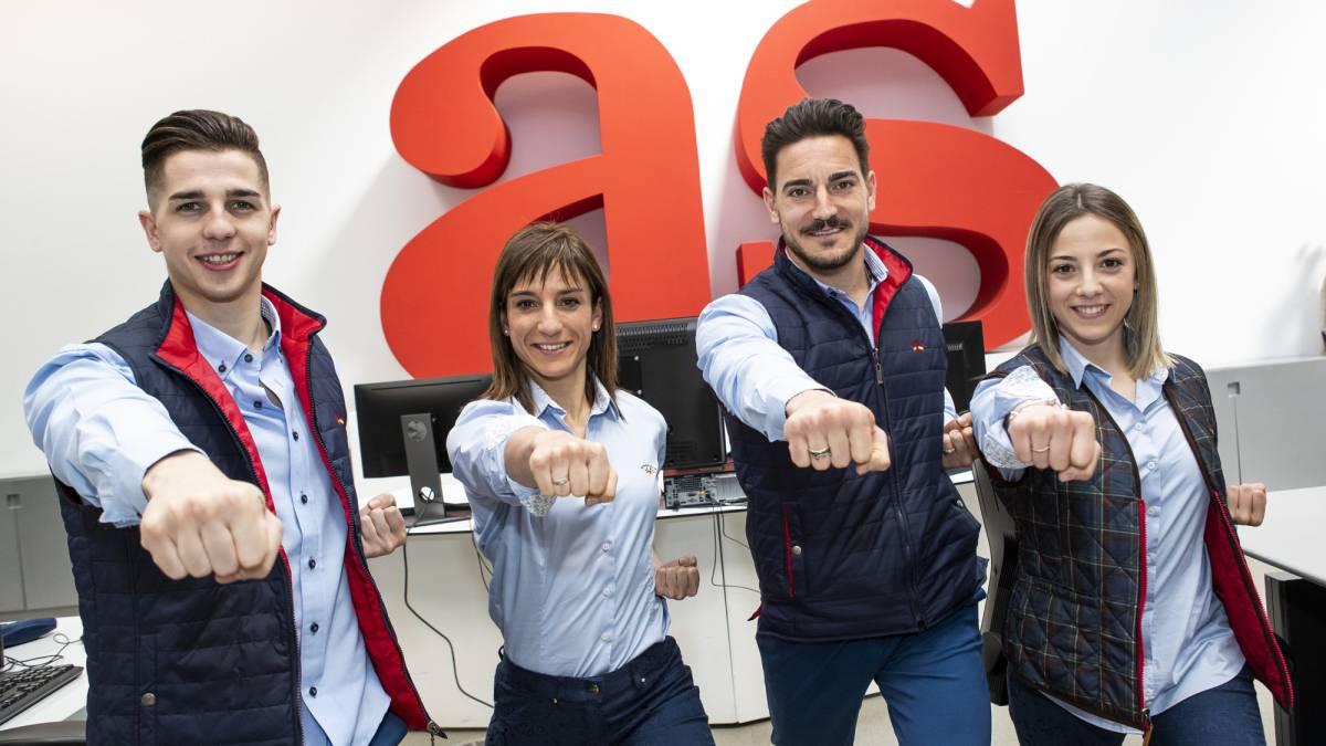 La Selección española pega fuerte en el Europeo 'olímpico'