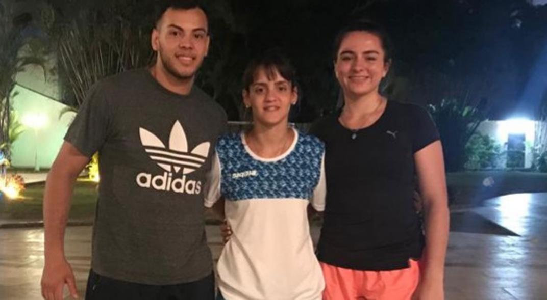 Cordobeses rumbo a Lima: Minuet y Novak van por la clasificación en karate