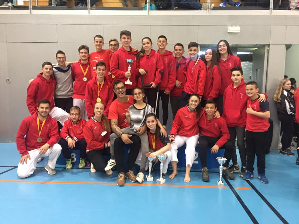 CAMPEONATO  CATALUÑA KARATE CLUBES 2019