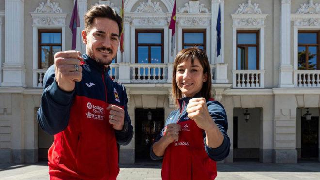 Damián Quintero y Sandra Sánchez se entrevistan en MARCA antes del Europeo