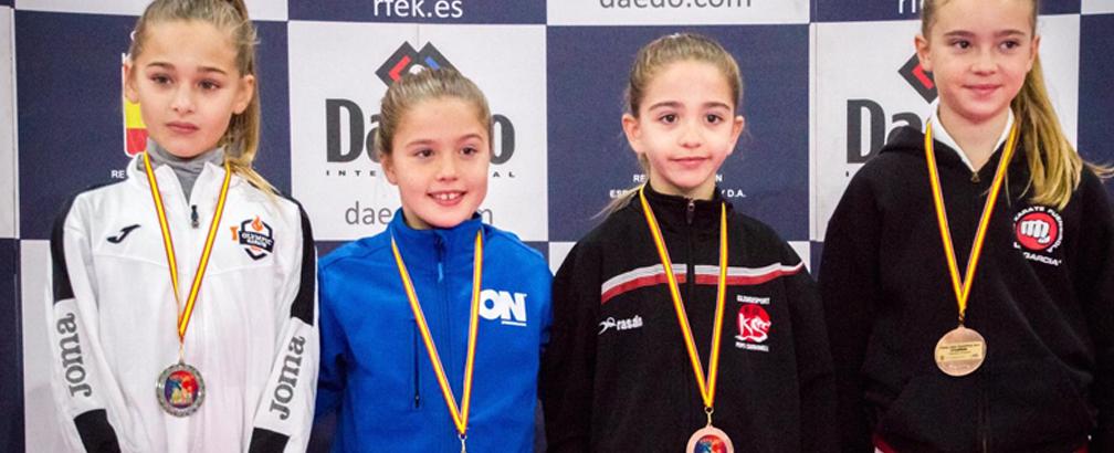 Seis karatekas del Club de Kárate On representarán a Andalucía en el Campeonato de España de Albacete
