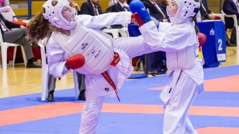 El Club Kárate Kanku logra cinco podios en los Campeonatos de España infantiles en Albacete