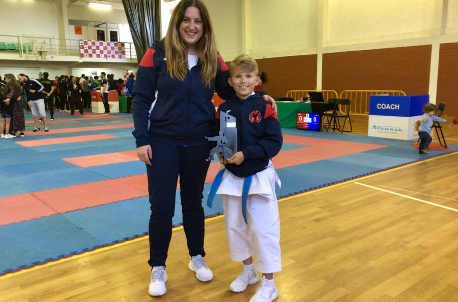 Medallas para el Karate Akai Ryu