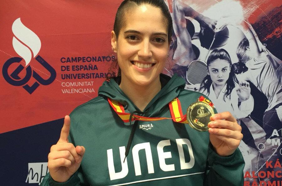 Ruth Lorenzo Couso campeona de España universitaria