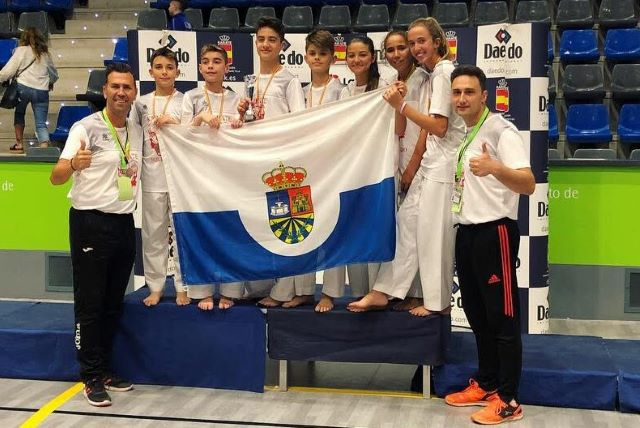 El club Seiken Do Fuenlabrada consigue un Tercer puesto en el Campeonato de España de clubes
