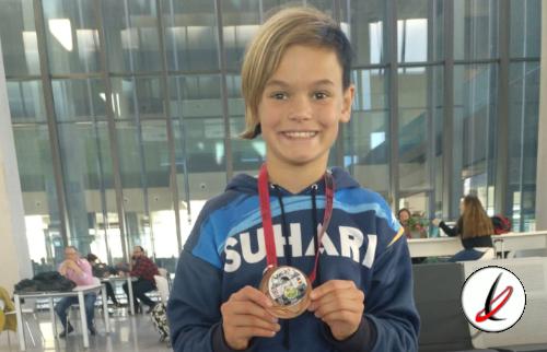 El Suhari Karate Tías regresa de Pamplona con una medalla de bronce