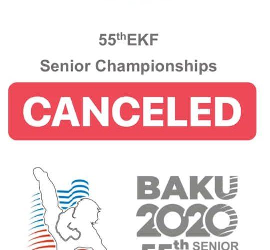 Se cancela el Europeo de kárate de Bakú