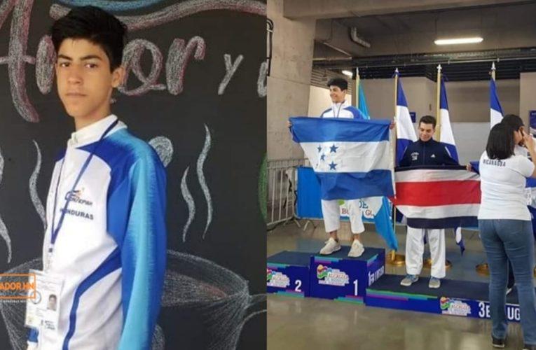 Hondureño gana el primer lugar en competencia de karate centroamericano