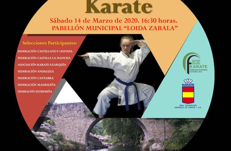 """El XIX Trofeo """"Diputación de Cáceres de Kárate"""" se disputará este sábado en Losar de la Vera"""