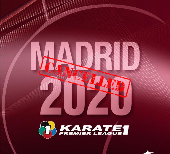 Se cancela la Premier League de karate de Madrid por el coronavirus