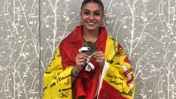 Marta García estará en el Europeo absoluto de Azerbaiyán