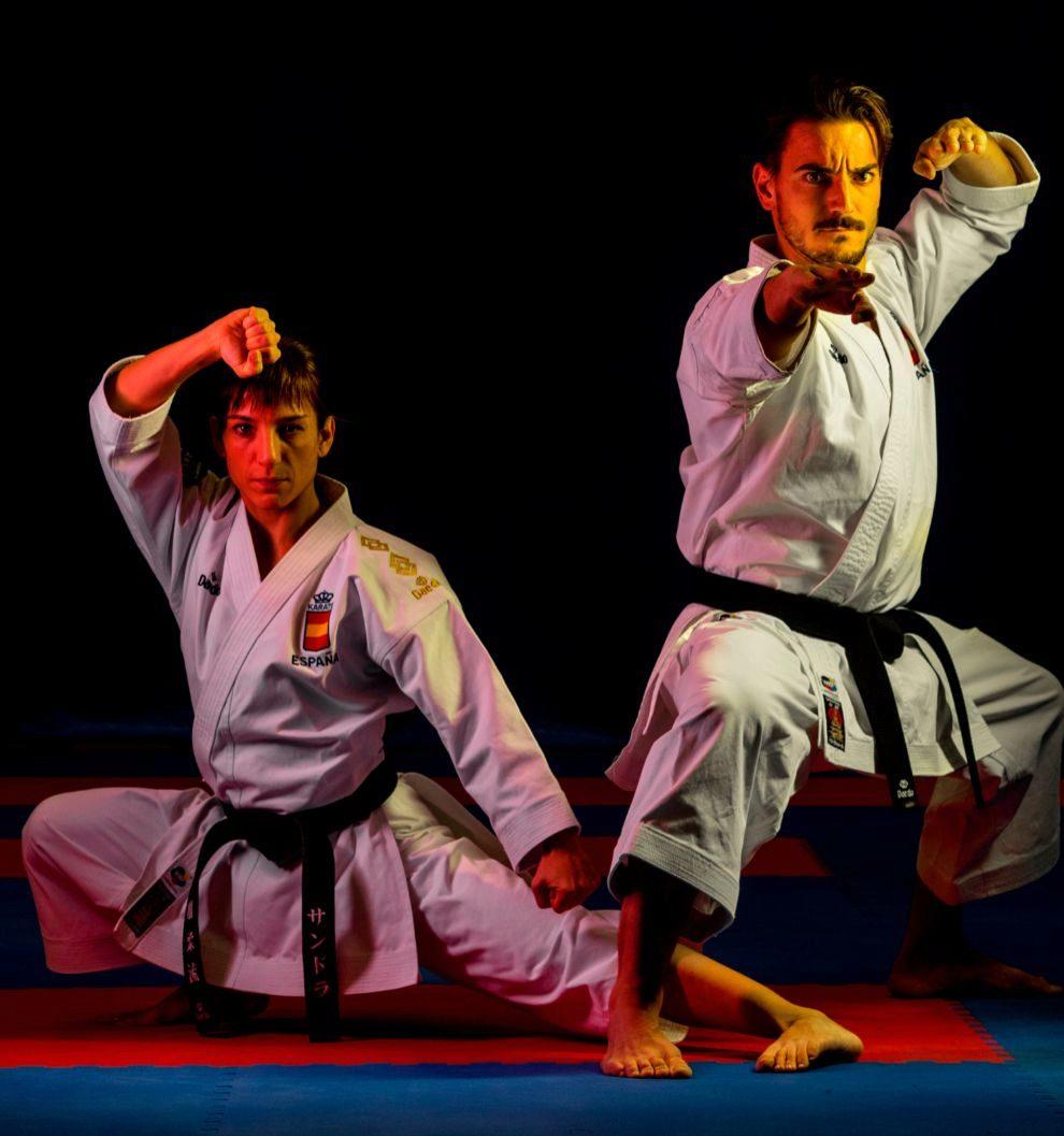 Sandra Sánchez y Damián Quintero, los mejores karatecas de kata del mundo que nos van a dar el oro en Tokio