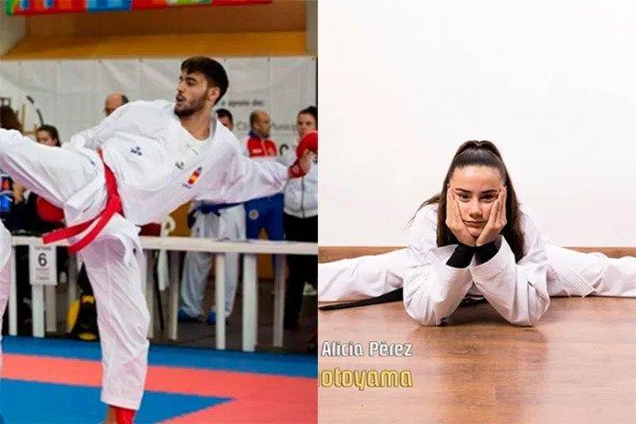 Antonio Ángel Álvarez y Alicia Pérez consiguen dos medallas en la jornada de la Liga Nacional de karate disputada en Ávila