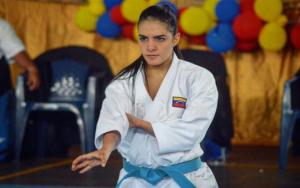 Andrea Armada, múltiple campeona en karate