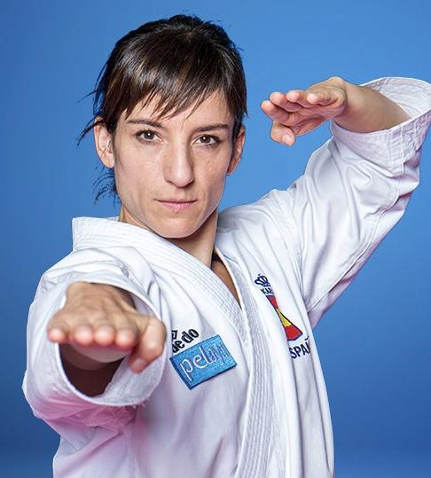 Lecciones de Karate básico con Sandra Sánchez