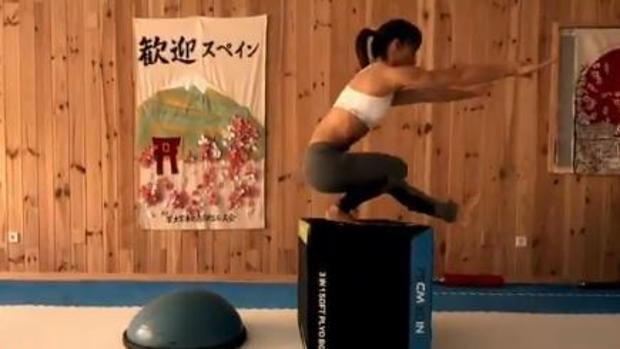 El brutal entrenamiento de la karateca Sandra Sánchez durante la pandemia