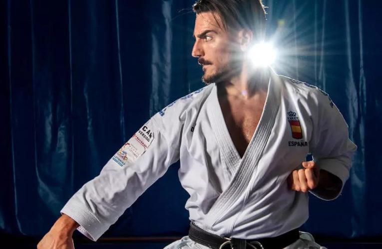 """Damián Quintero, primero del ránking mundial, cree """"un error"""" sacar el karate de París-2024"""